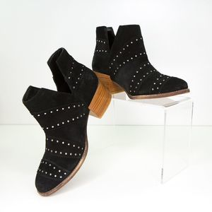 """New ROXY """"Lexie"""" Studded Suede Ankle Boots US 6.5"""